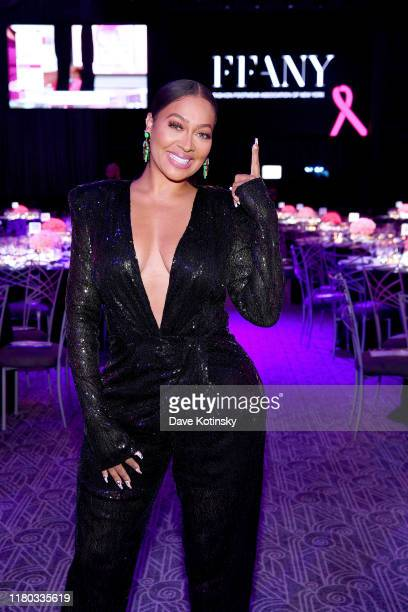 La La Anthony attends the 26th Annual QVC Presents FFANY Shoes On Sale Gala on October 10 2019 in New York City