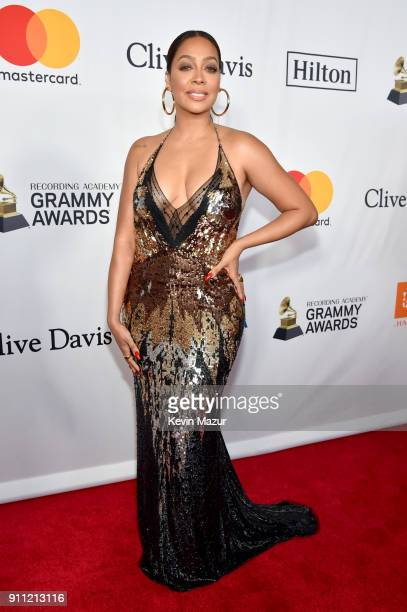 La La Anthony attends the Clive Davis and Recording Academy PreGRAMMY Gala and GRAMMY Salute to Industry Icons Honoring JayZ on January 27 2018 in...