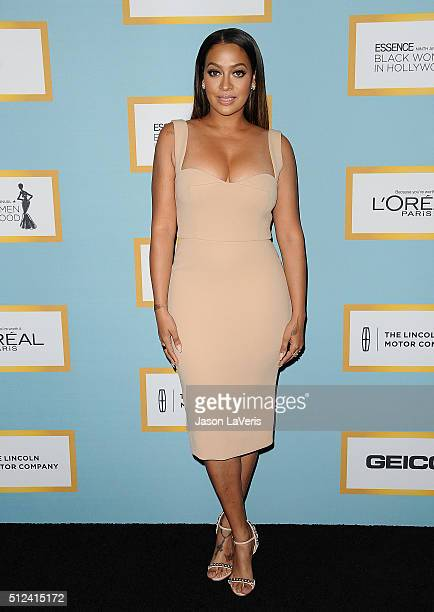 La La Anthony attends the Essence 9th annual Black Women In Hollywood event at the Beverly Wilshire Four Seasons Hotel on February 25 2016 in Beverly...