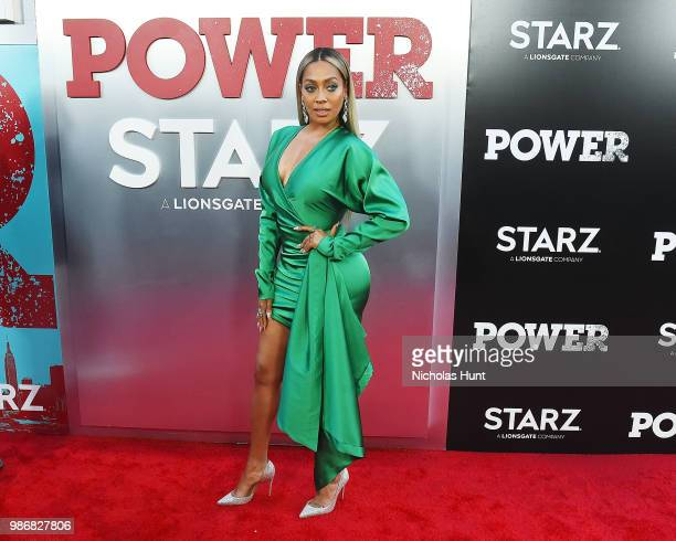La La Anthony attends the POWER Season 5 Premiere at Radio City Music Hall on June 28 2018 in New York City