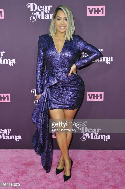 La La Anthony attends VH1's 3rd Annual Dear Mama A Love Letter To Moms at The Theatre at Ace Hotel on May 3 2018 in Los Angeles California
