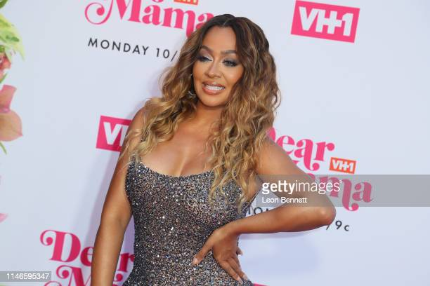La La Anthony attends VH1's Annual Dear Mama A Love Letter To Mom at The Theatre at Ace Hotel on May 02 2019 in Los Angeles California