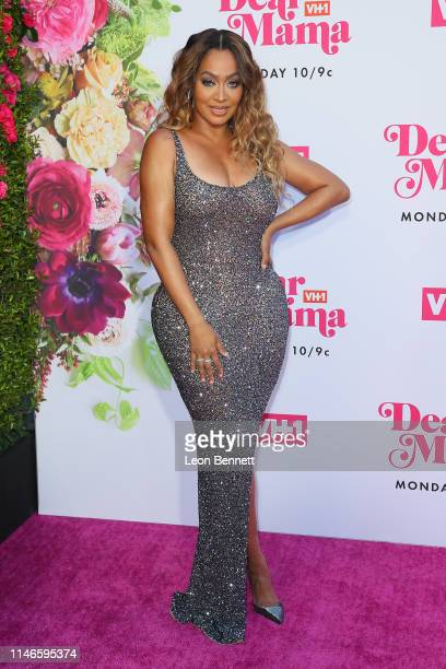 """La La Anthony attends VH1's Annual """"Dear Mama: A Love Letter To Mom"""" at The Theatre at Ace Hotel on May 02, 2019 in Los Angeles, California."""