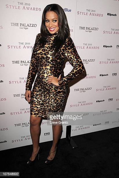 La La Vasquez attends the 2010 Hollywood Style Awards at The Billy Wilder Theater at the Hammer Museum on December 12 2010 in Los Angeles California