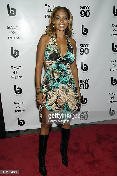La La Vasquez during 2005 VH1 Hip Hop Honors SaltNPepa After Party at Taj in New York City New York United States