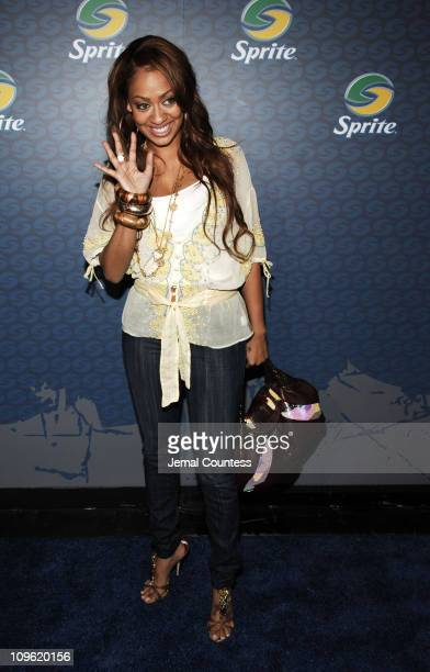 La La Vasquez during Sprite Street Couture Showcase - Arrivals and Afterparty at Guastavino's in New York City, New York, United States.
