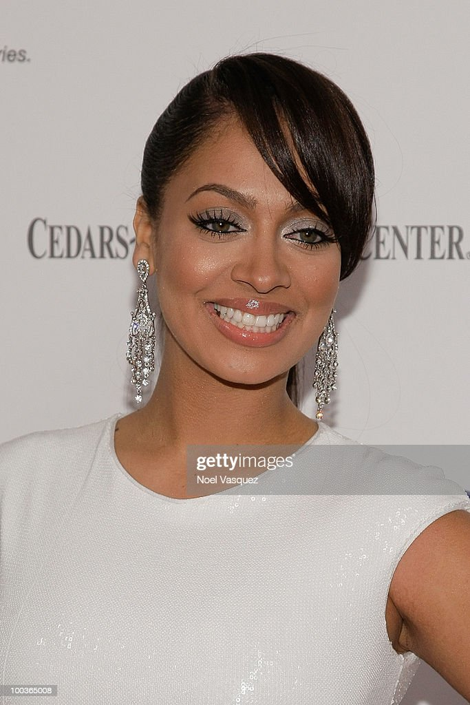 La La Vazquez attends the 25th anniversary of Cedars-Sinai Sports Spectacular Hyatt Regency Century Plaza on May 23, 2010 in Century City, California.