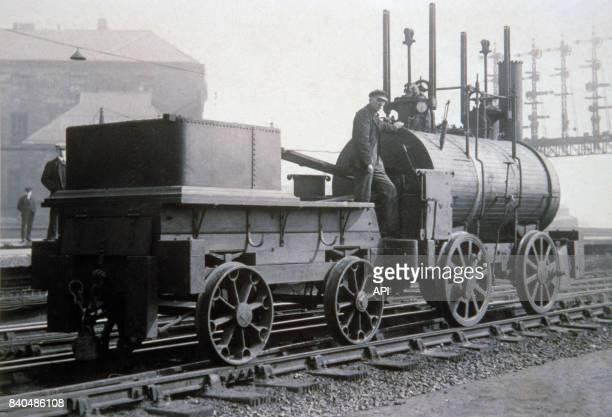 La locomotive à vapeur 'Puffing Billy' au RoyaumeUnis