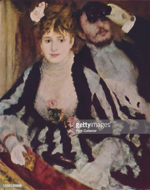 La Loge' 'La Loge' a couple watch a performance Renoir's brother Edmond and Nini Lopez a model from Montmartre known as 'Fishface' posed for the...