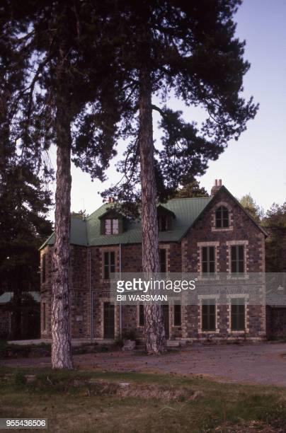 La maison construite par Arthur Rimbaud devenue domaine présidentiel à Troodos Chypre