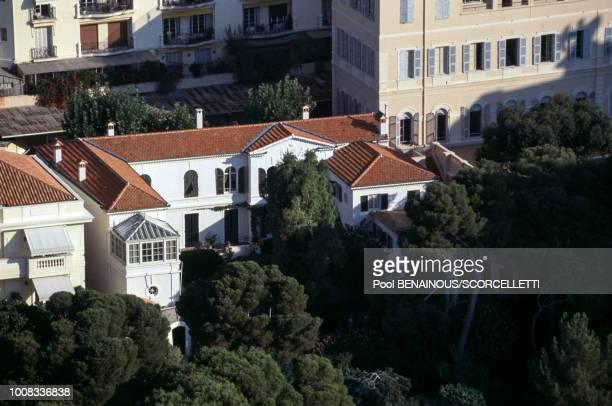 La maison de la princesse Caroline de Monaco le 15 septembre 1996 à Monaco