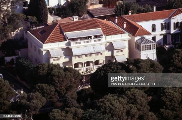 La maison de la princesse Stéphanie de Monaco le 15 septembre 1996 à Monaco