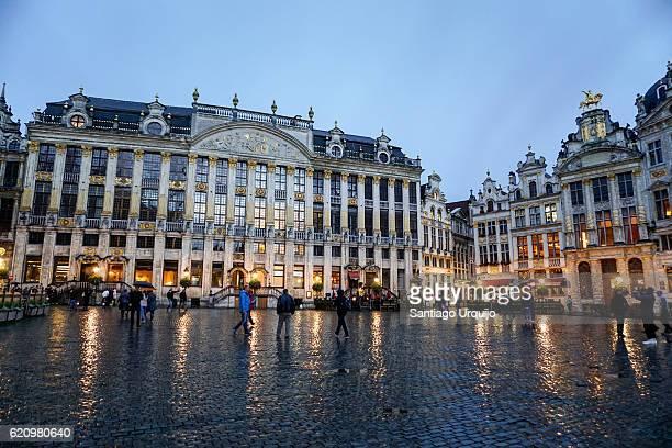 La Maison des Ducs de Brabant in Grand Place of Brussels