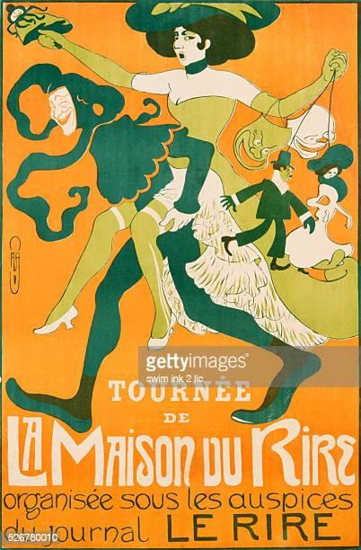 La Maison Du Rire Poster by Caro