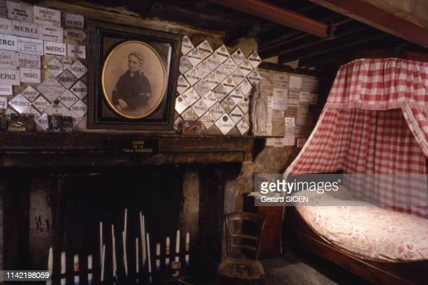 La maison paternelle de Bernadette Soubirous à Lourdes, dans les Hautes-Pyrénées, France.