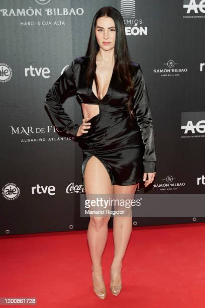La Mala Rodriguez attends Odeon Awards 2020 at Royal Theater on January 20, 2020 in Madrid, Spain.
