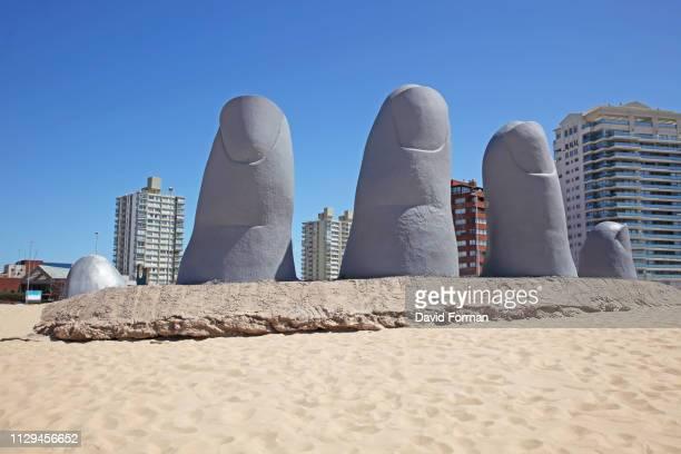 'La Mano de Punta del Este' Uruguay.