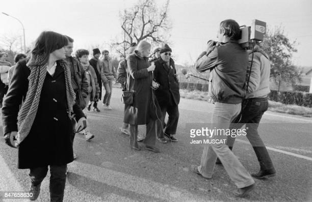 La Marche pour l'Egalite appelee egalement Marche des Beurs est de passage en Alsace ou de nombreuses personnes ont pris le relais des marcheurs dont...
