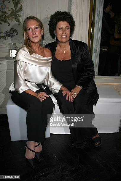 la Marchesa Fiorenza LaLatta Locatelli and Carla Fendi