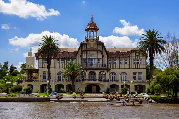 La Marina Rowing Club (Club de Regatas La Marina) in Tigre, Buenos Aires, Argentina, South America
