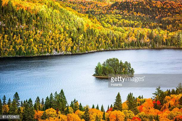 La Mauricie National Park Autumn colors
