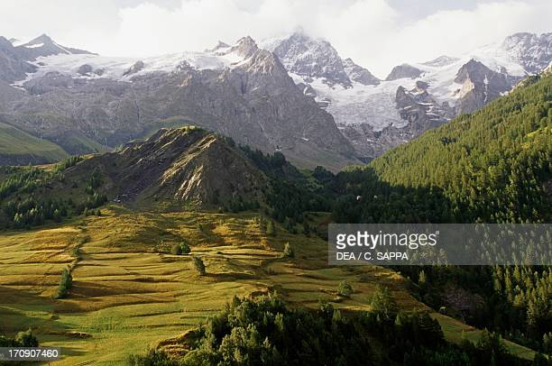 La Meije massif Ecrins National Park Isere and Hautes Alpes France