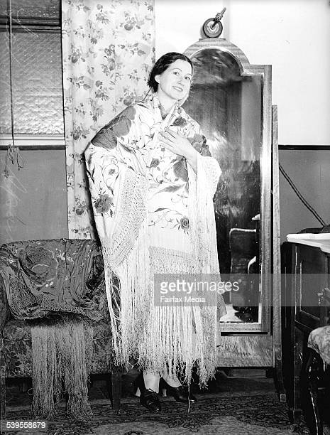La Meri the Spanish dancer on 19 October 1936 SUN NEWS Picture by STAFF