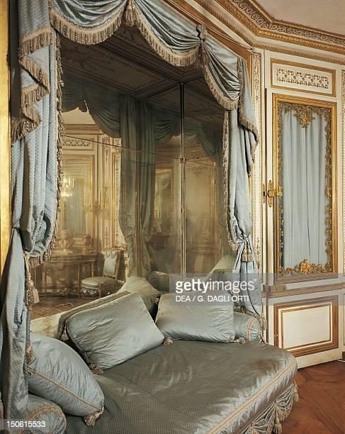 La Meridiana Marie Antoinette's sitting area Palace of Versailles furnished by Mique in 1781 France 18th century