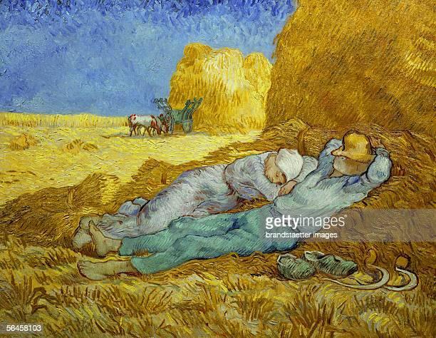 La meridienne or la sieste 18891890 Oil on canvas 73 x 91 cm [La meridienne or la sieste Gemaelde 18891890]