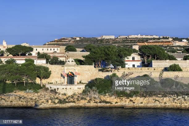 La Mola fortress at Mahon in Minorca.