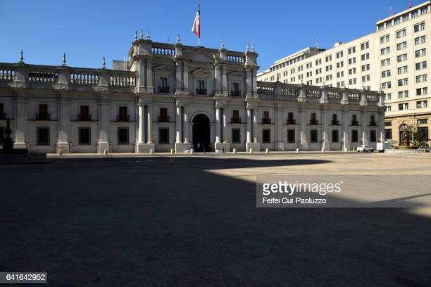La Moneda Palace of Santiago in Chile