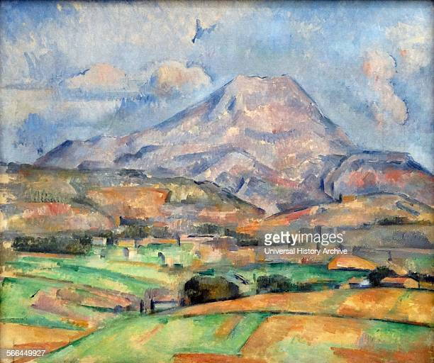 La Montagne SainteVictoire by Paul Cezanne a PostImpressionist painter whose work laid the foundations of the transition from the 19thcentury...