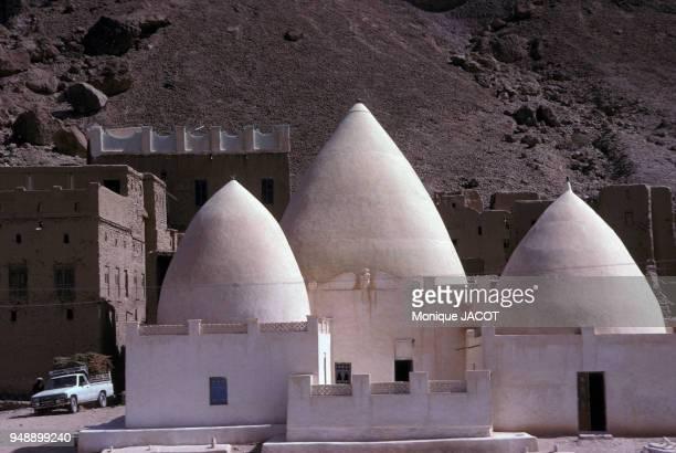 La mosquée d'AlMashhad en janvier 1984 Yémen