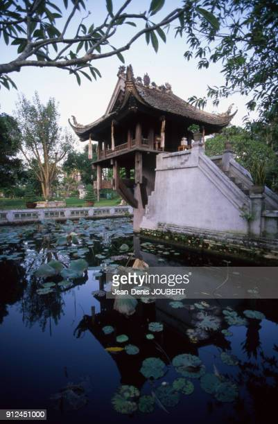 La pagode Mot Cot a Hanoi Viet Nam