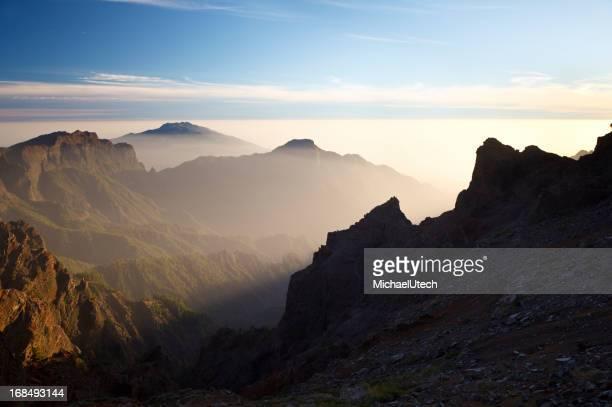 Volcan paysage de La Palma