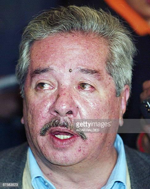 Jose Enrique Pinelo designado como nuevo consul de Bolivia en Chile responde preguntas durante la presentacion de la nueva autoridad diplomatica el...