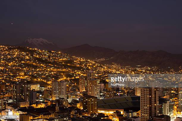 La Paz Bolivia The highest capital on the world at 4000masl on July 21 2016