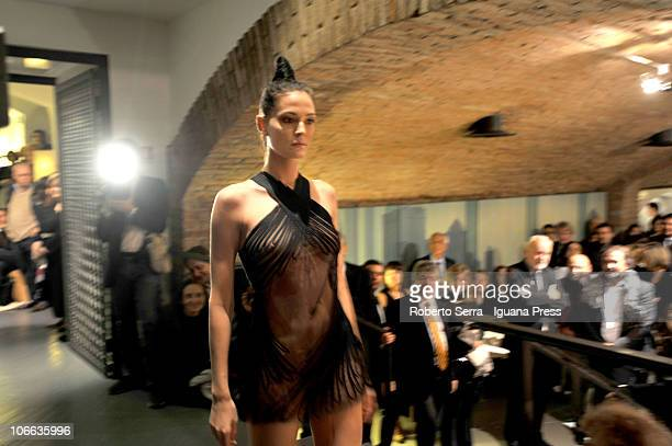 408304dd7 La Perla lingerie show signed by stylist Jean Paul Gaultier to celebrate  50th anniversary of Roche