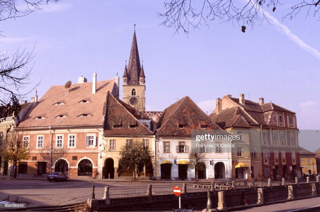 La Petite Place De Sibiu Roumanie News Photo Getty Images