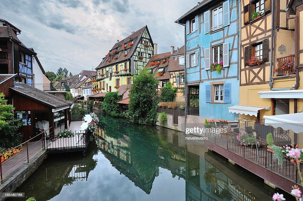 La Petite Venice in Colmar, France : Stock Photo