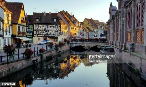 La Petite Venise (Little Venice), picturesque quarter in Colmar, Alsace, France