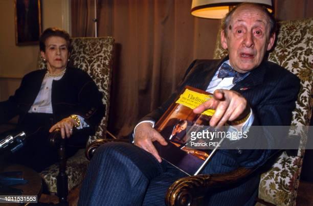La pianste Vladimir Horowitz à Hambourg en mai 1986 Allemagne