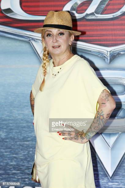 La Pina attends a photocall for Cars 3 at Hotel Parco Dei Principi on July 12 2017 in Rome Italy