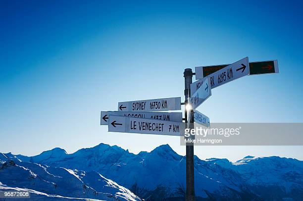 la plagne, france - la plagne stock photos and pictures