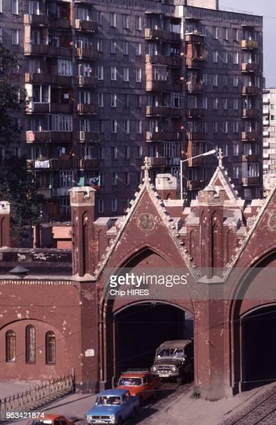 La Porte de Brandebourg en septembre 1991 à Kaliningrad en URSS.