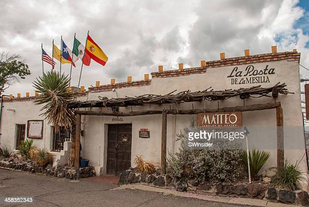 la posta in old mesilla - las cruces new mexico stock pictures, royalty-free photos & images