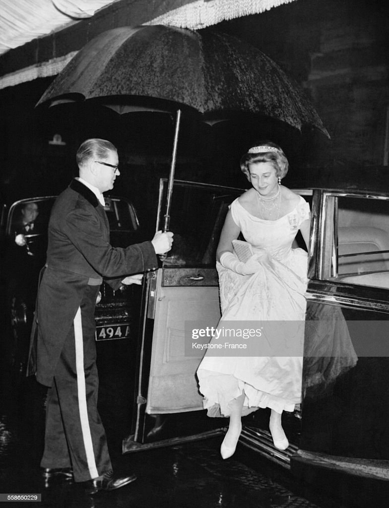 La Duchesse De Kent A L'Opera : News Photo