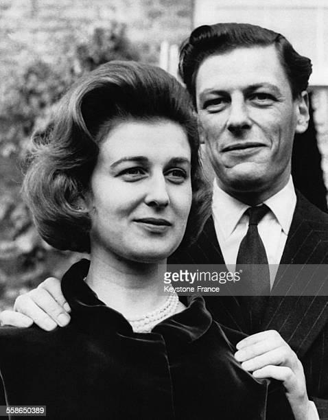 La Princesse Alexandra et son epoux Angus Ogilvy en 1964 au RoyaumeUni