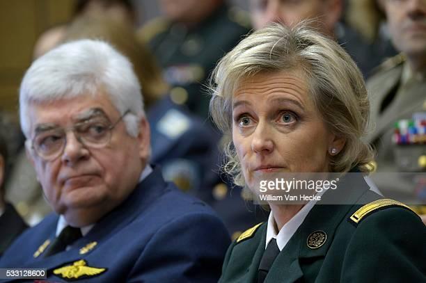 """- La Princesse Astrid assiste à l' Open Conference of the """"NATO Committee on Gender Perspectives"""" à l'École Royale Militaire à Bruxelles. Le NCGP est..."""