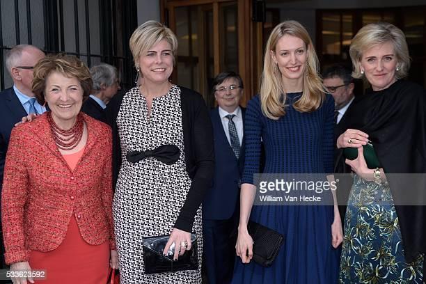 La Princesse Astrid assiste la cérémonie de remise du Princess Margriet Award de la European Cultural Foundation Le prix sera remis par la Princesse...